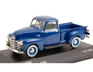 White Box WB081 CHEVROLET 3100 PICK UP 1950 BLUE 1:43 Modellino