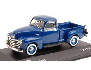 White Box WB081 CHEVROLET 3100 PICK UP 1950 BLUE 1:43 Modellino