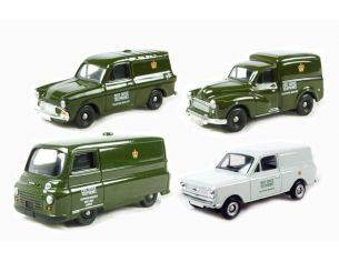 Corgi PO1004 POST OFFICE SET 4 PCS. 1/76 Modellino