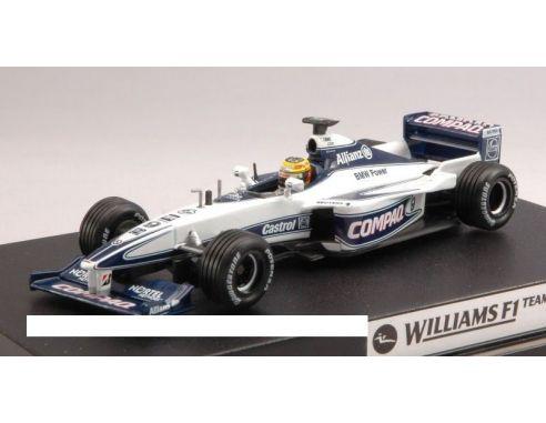 Hot Wheels HW26746 WILLIAMS FW 22 N.9 RALF SCHUMACHER 2000 1:43 Modellino