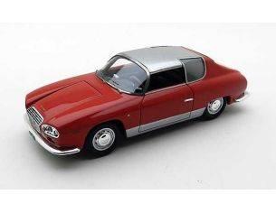 Neo Scale Models NEO45165 LANCIA FLAVIA SPORT ZAGATO 1965 RED/SILVER 1:43 Modellino