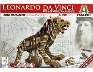 Italeri IT3102 LEONE MECCANICO LEONARDO DA VINCI cm 21 Modellino