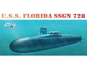 Dragon D1056 U.S.S. FLORIDA SSGN 728 KIT 1:350 Modellino