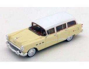True Scale Miniatures TSM144316 BUICK CENTURY ESTATE WAGON 1954 CREAM/WHITE 1:43 Modellino