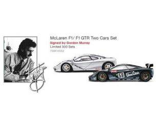 True Scale Miniatures TSM14SS2 MC LAREN F1/F1 GTR N.5 AUTOGRAFATA DA GORDON MURRAY ED.LIM.PCS 300 1:43 Modellino