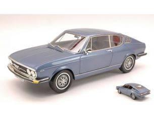 KK Scale KK180001 AUDI 100 COUPE' S 1970 BLUE MET.LIMITED 500 PCS 1:18 Modellino