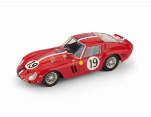 Brumm BM0534 FERRARI 250 GTO N.19 2nd LM 1962 GUICHET-NOBLET 1:43 Modellino