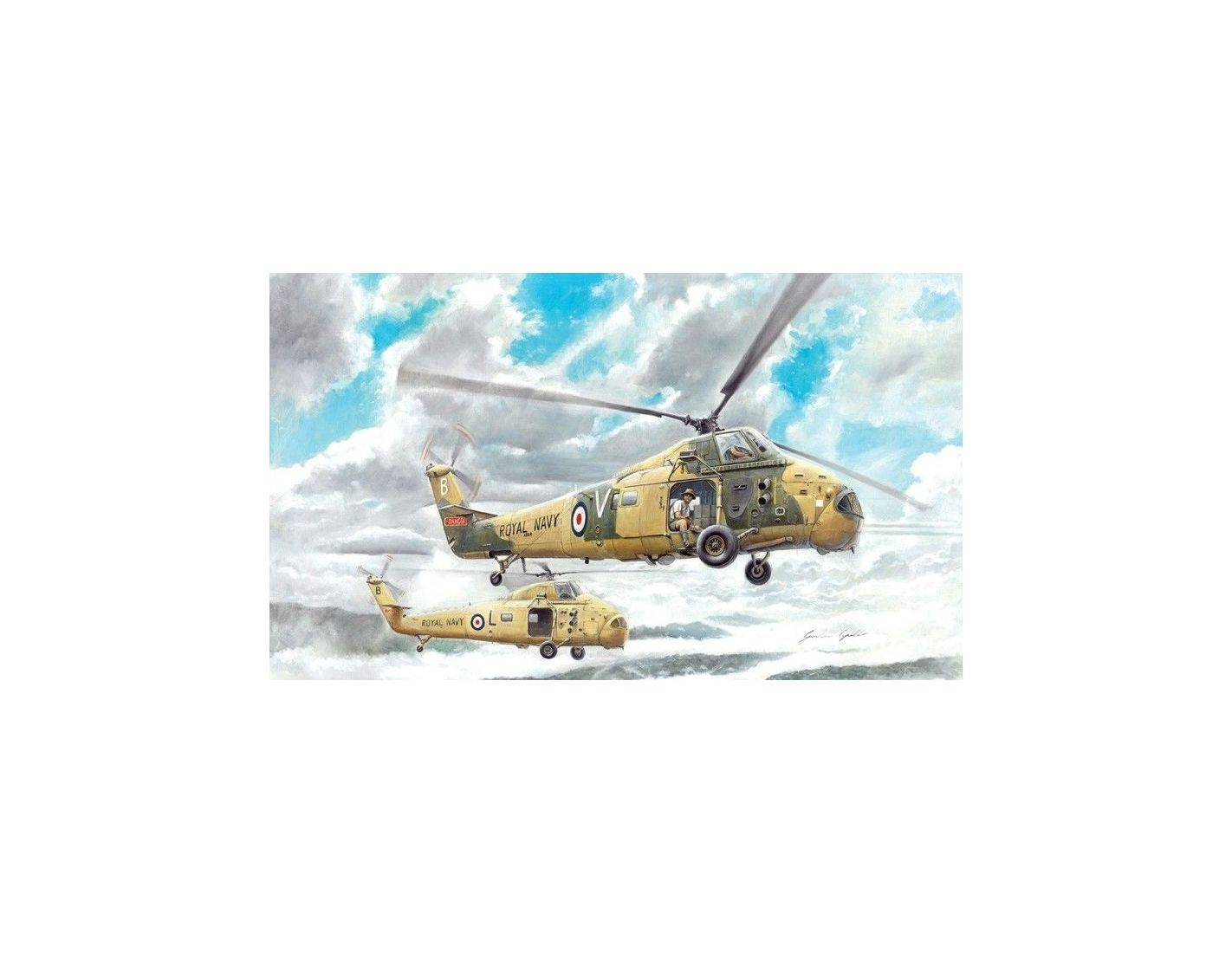 Elicottero Wessex : Italeri it elicottero wessex has a kit modellino