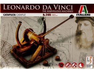 Italeri IT3105 CATAPULTA LEONARDO DA VINCI cm 26,5 Modellino