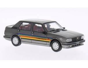 Neo Scale Models NEO45612 ALFA ROMEO GIULIETTA 2.0 TURBODELTA 1980 MET.BLACK 1:43 Modellino