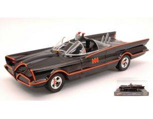 Hot Wheels HWBLY66 BATMOBILE CLASSIC TV SERIES 1:24 Modellino