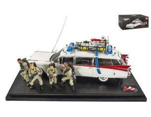 Hot Wheels HWBLY25 ECTO-1 GHOSTBUSTERS 30th ANNIVERSARY 1:18 Modellino