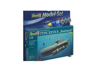 Revell RV5125 U-BOOT TYPE XXVIIB SEEHUND KIT 1:72 Modellino