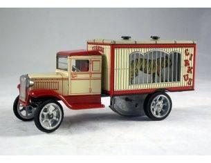 Die Blechfabrik 596 CAMION CIRCO GABBIA DI ANIMALI Modellino