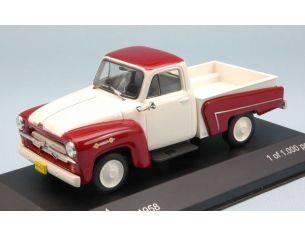 White Box WB093 CHEVROLET 3100 PICK UP 1958 CREAM/DARK RED 1:43 Modellino