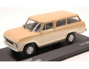White Box WB094 CHEVROLET VERANEIO 1965 LIGHT BEIGE/BEIGE 1:43 Modellino