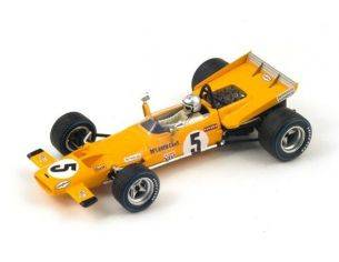 Spark Model S3132 MC LAREN M7C B.MC LAREN 1969 N.5 4th FRENCH GP 1:43 Modellino