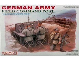 Dragon D3823 GERM.ARMY FIELD COMMAND POST KIT 1:3 Modellino