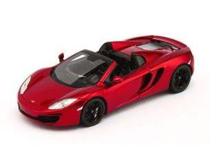 True Scale Miniatures TSM134334 MC LAREN MP4-12C SPIDER 2013 METALLIC RED 1:43 Modellino