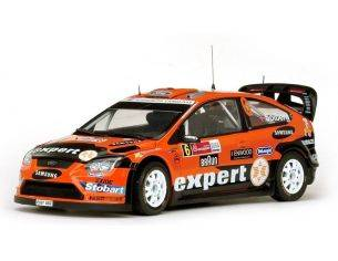 SunStar SS3952 FORD FOCUS N.6 6th MEXICO 2010 H.SOLBERG-I.MINOR 1:18 Modellino