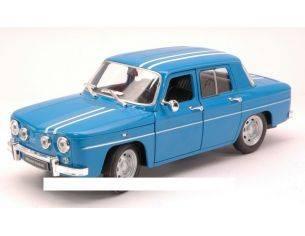 Welly WE0323 RENAULT R8 GORDINI 1964 BLUE/WHITE 1:24 Modellino
