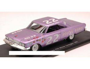 Spark Model S3597 FORD GALAXY N.22 WINNER DARLINGTON 1963 FIREBALL ROBERTS 1:43 Modellino