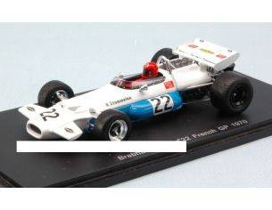 Spark Model S3509 BRABHAM BT33 R.STOMMELEN 1970 N.22 7th FRENCH GP 1:43 Modellino