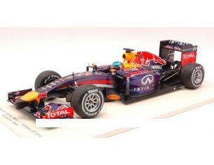 Spark Model S18135 RED BULL RB10 S.VETTEL 2014 N.1 RETIRED AUSTRALIAN GP 1:18 Modellino