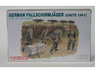 Dragon D6070 GERMAN FALLSCHIRMJAGER Modellino