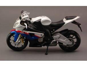 Maisto MI10042W BMW S 1000 RR WHITE 1:12 Modellino