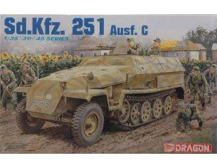 Dragon D6187 SD KFZ 251 AUSF.C KIT 1:35 Modellino