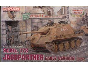 Dragon D6245 JAGDPANTHER EARLY TYPE KIT 1:35 Modellino