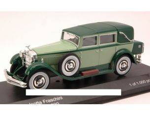 White Box WB101 ISOTTA FRASCHINI TIPO 8 1930 LIGHT GREEN/DARK GREEN 1:43 Modellino