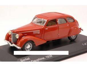 White Box WB100 BERLIET 11CV DAUPHINE 1939 RED 1:43 Modellino