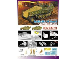 Dragon D6247 SD KFZ 251/16 AUSF.D KIT Modellino