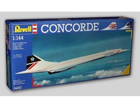 Revell rv4257 concorde kit 1 144 modellino for Modellino concorde
