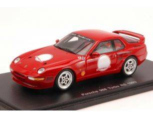 Spark Model S3457 PORSCHE 968 TURBO RS 1993 RED 1:43 Modellino