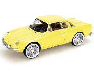 Universal Hobbies UH5068 ALPINE A 108 COUPE'1961 YELLOW 1:43 Modellino