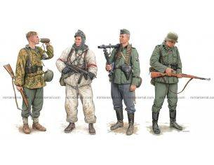 Dragon D6707 GERMAN ELITE INFANTRY KIT 1:35 Modellino