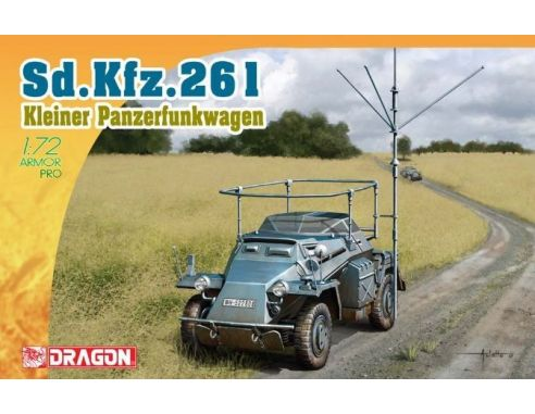 Dragon D7447 SD.KFZ.261 KIT 1:72 Modellino