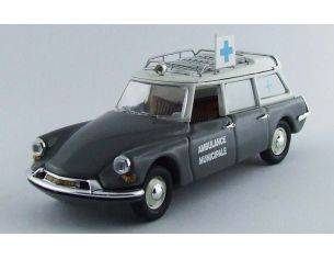 Rio RI4447 CITROEN DS 19 AMBULANZA MUNICIPALE 1962 GREY 1:43 Modellino