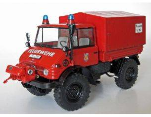 Welly WEIS2011 UNIMOG 406 (U84) FEUERWEHR 1971-1989 1:32 Modellino