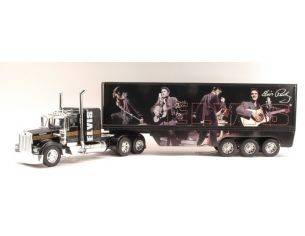 New Ray NY10463B KENWORTH W900 TRUCK AMERICAN'S LEGENDS ELVIS PRESLEY RED 1:32 Modellino