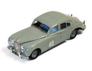 Ixo model RAC238 JAGUAR MKVII N.40 WINNER SILVERSTONE TOURING CAR 1953 S.MOSS 1:43 Modellino