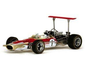 Quartzo QZ27804 LOTUS 49B G.HILL 1969 N.1 WINNER MONACO GP 1:43 Modellino