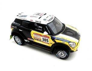 True Scale Miniatures TSM144343 MINI COUNTRYMAN N.305 2nd DAKAR 2012 N.ROMA-M.PERIN 1:43 Modellino