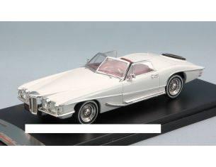 PremiumX PRD351 STUTZ BLACKHAWK CONVERTIBLE 1971 WHITE 1:43 Modellino