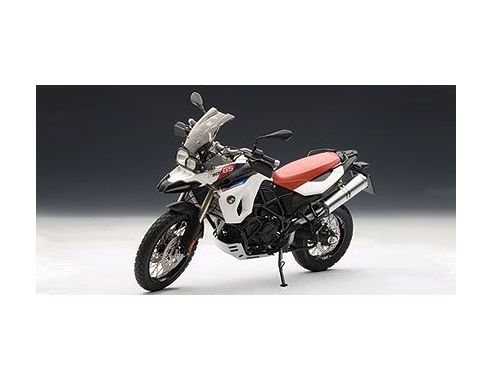 Auto Art / Gateway 10008 BMW F800GS WHITE + RED SEAT 1/10 Modellino