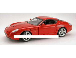Hot Wheels HWP9887 FERRARI 575 GTZ 2006 RED FOUNDATION 1:18 Modellino