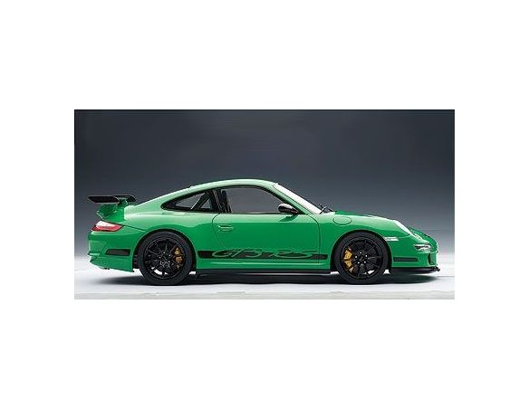 Auto Art / Gateway AA12118 PORSCHE 997 GT 3 RS GREEN 1:12 Modellino